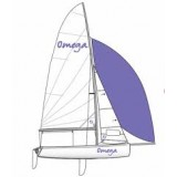 Topper Omega breathable mast up boom down polycotton top cover